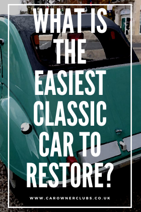 What is the easiest classic car to restore?